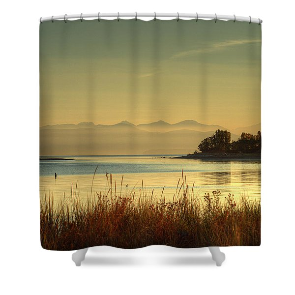 Shower Curtain featuring the photograph September Morn by Randy Hall
