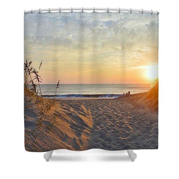 September Sunrise Shower Curtain