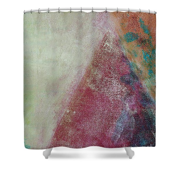 Shower Curtain featuring the mixed media Ser.1 #08 by Writermore Arts