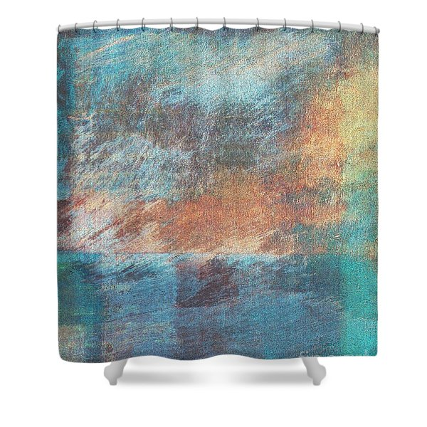 Shower Curtain featuring the mixed media Ser.1 #09 by Writermore Arts