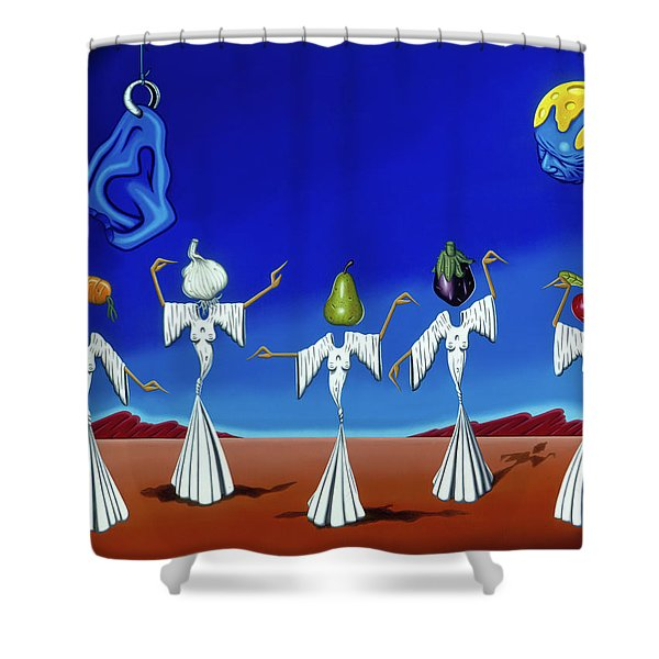 Serenade Of The Sisters Shower Curtain