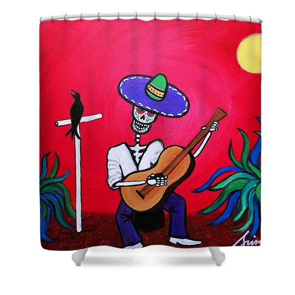 Serenata Painting Shower Curtain