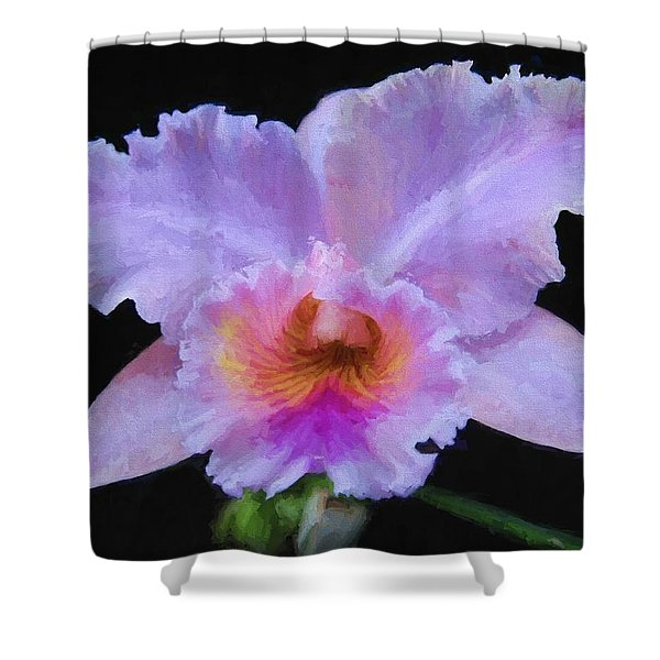 Serendipity Orchid Shower Curtain