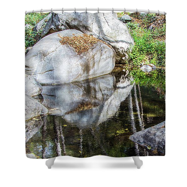 Serene Reflections Shower Curtain