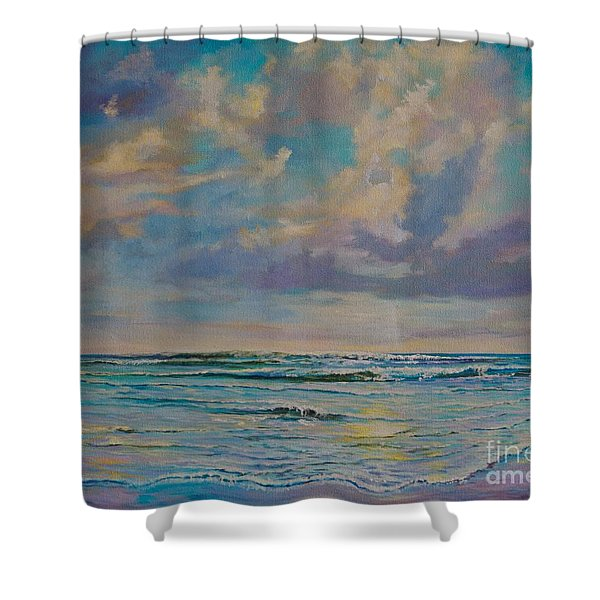 Serene Sea Shower Curtain