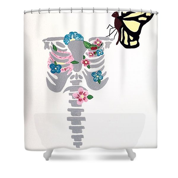 It's A Beautiful Life Shower Curtain