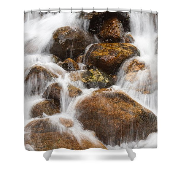 Serenity Central Shower Curtain