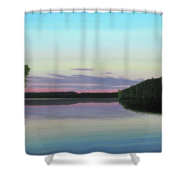 Serenity Skies Shower Curtain