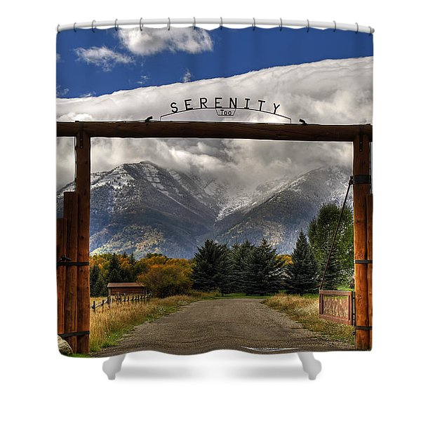 Serenity Too Shower Curtain