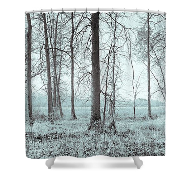 Series Silent Woods 2 Shower Curtain