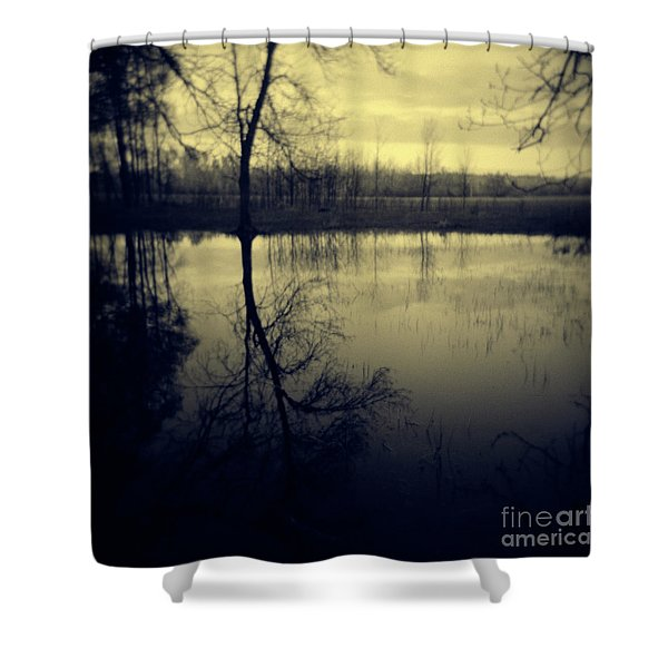 Series Wood And Water 5 Shower Curtain