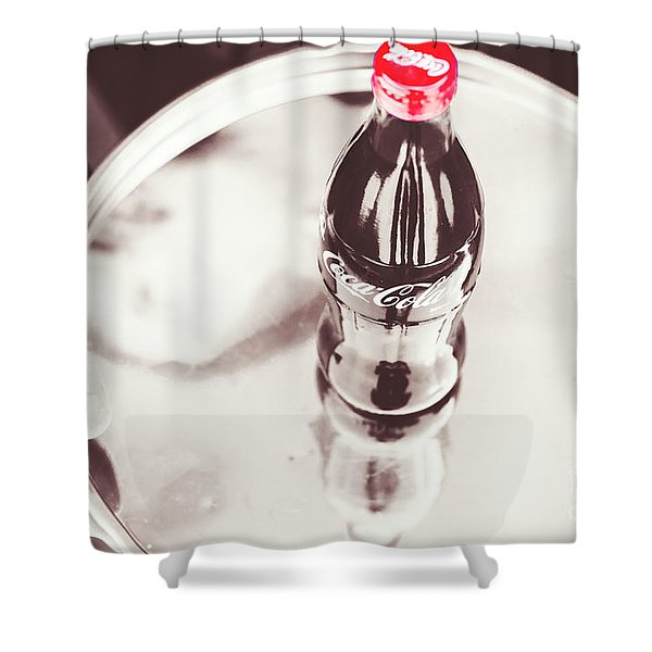 Service At The Soda Shop Shower Curtain