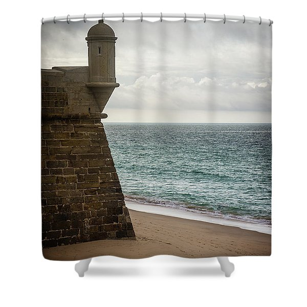 Sesimbra Fort Shower Curtain