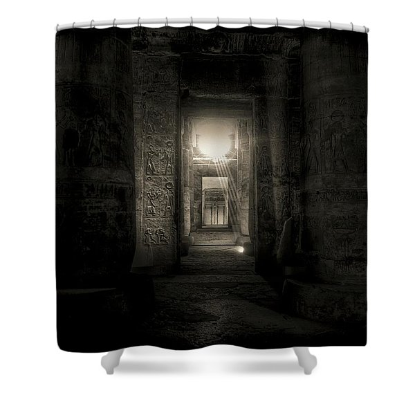 Seti I Temple Abydos Shower Curtain