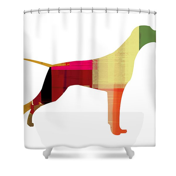 Setter Pointer Shower Curtain