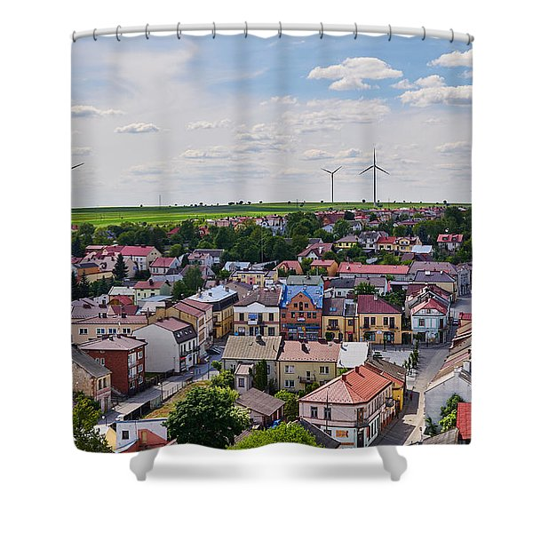 Settlers Shower Curtain