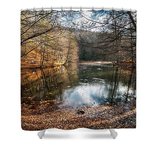Seven Lakes Shower Curtain