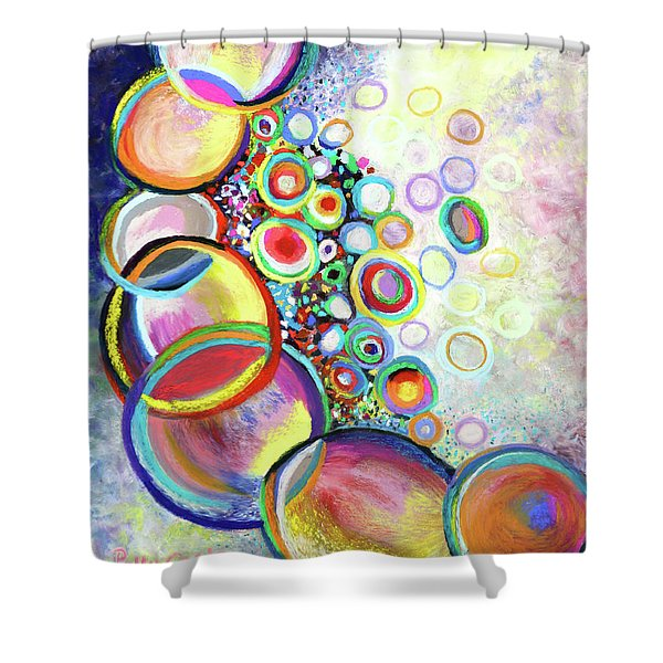 Seven Truths Shower Curtain