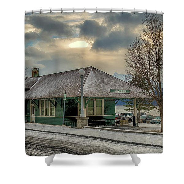 Seward Alaska 2017 Shower Curtain