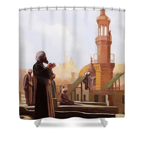 Sguardo Al Cielo Shower Curtain