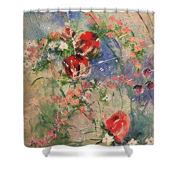 Shabby Chic #2 Shower Curtain