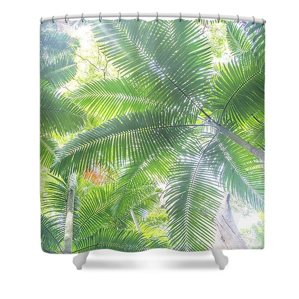 Shade Of Eden  Shower Curtain
