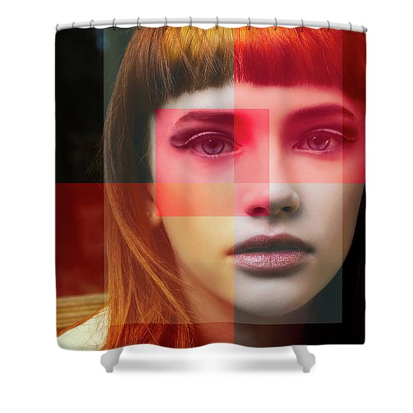 Shades Of My Soul Shower Curtain