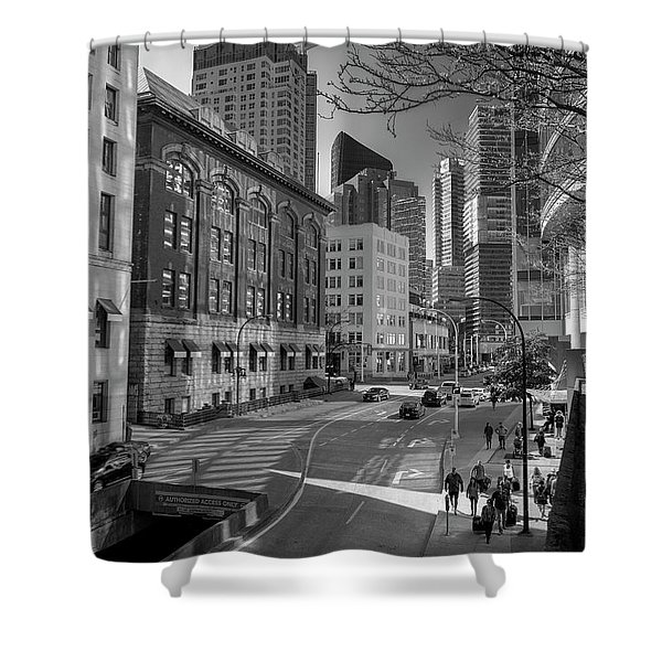 Shades Of The City Shower Curtain