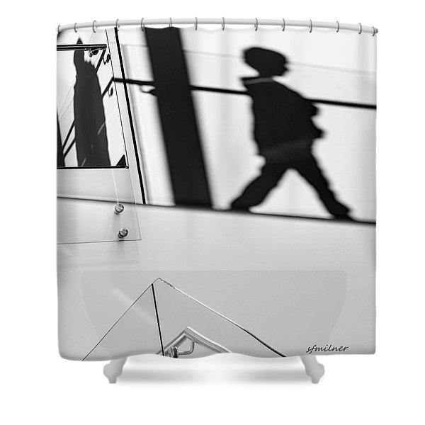 Shadow Child Shower Curtain