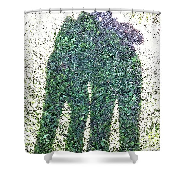 Shadow In The Meadow Shower Curtain