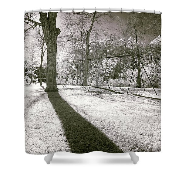Shadow Of A Memory Shower Curtain