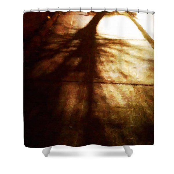 Shadow Of No Doubt Shower Curtain