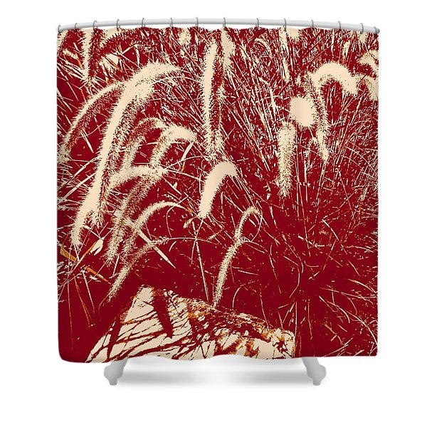 Shadow Painting Shower Curtain