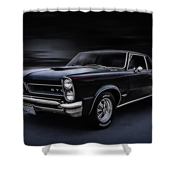 Shadow Rider Shower Curtain