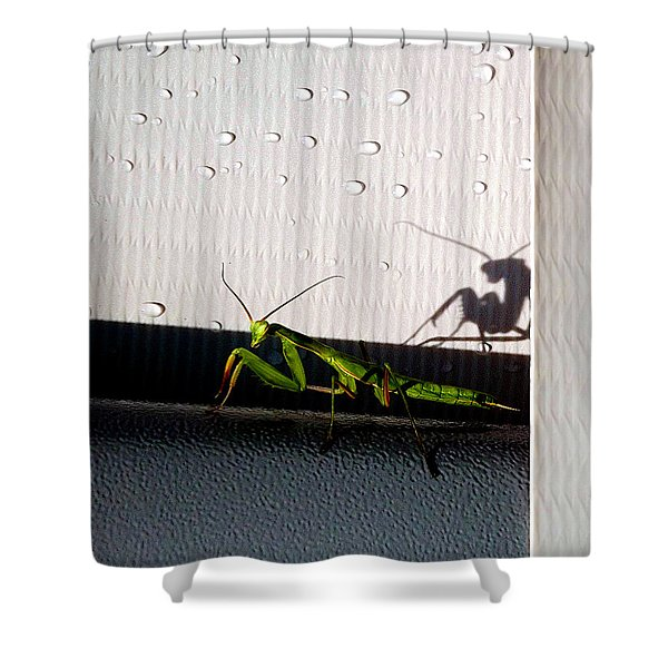 Shadow Self Shower Curtain