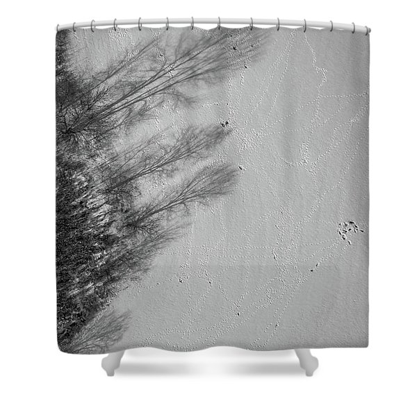 Shadow Walkers Shower Curtain