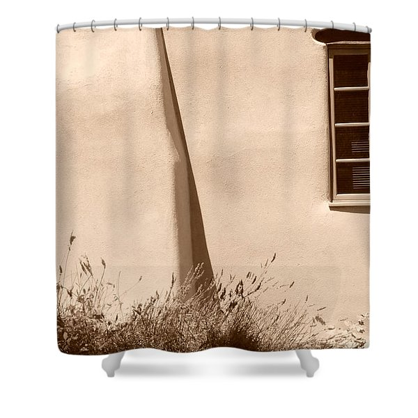 Shadows And Light In Santa Fe Shower Curtain