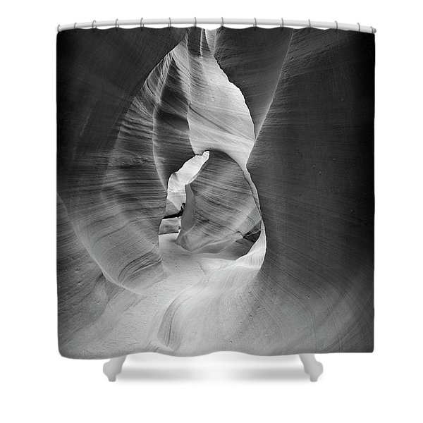 Shadows In Antelope Canyon Shower Curtain