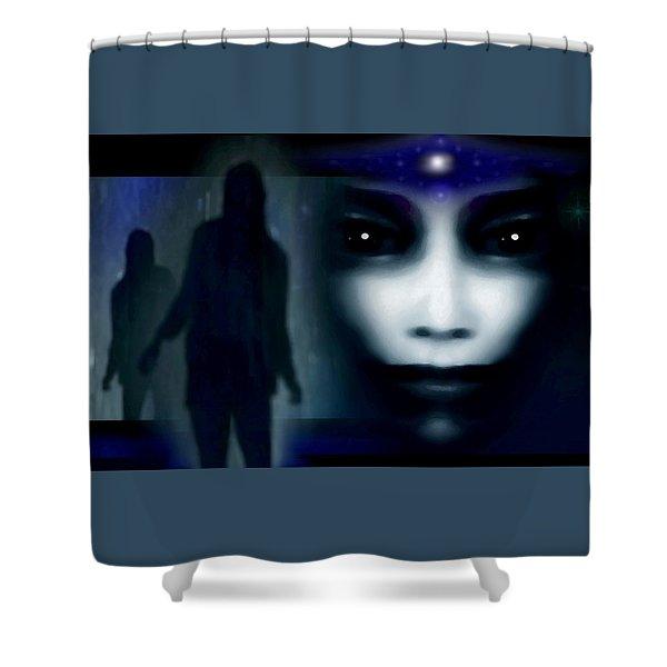 Shadows Of Fear Shower Curtain