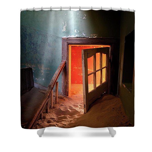 Shaft Of Light Shower Curtain