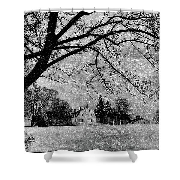 Shaker Winter IIi Shower Curtain