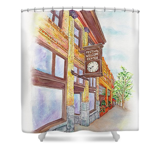 Shakespeare Time Shower Curtain