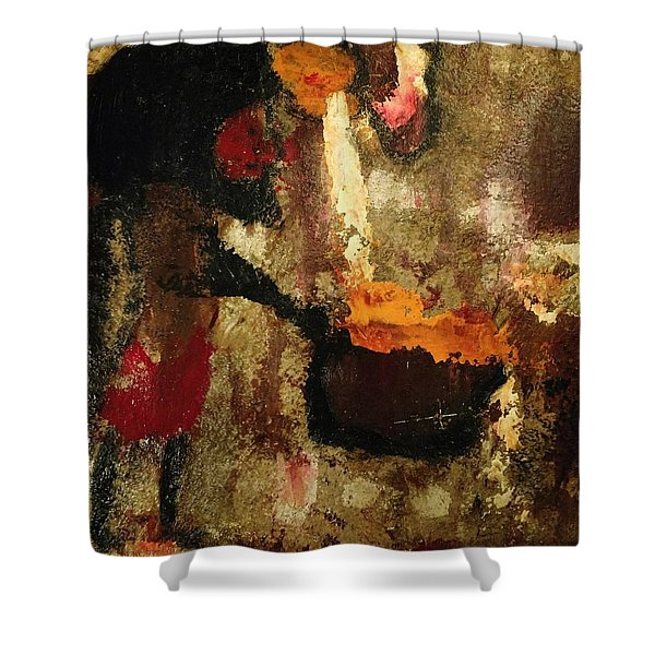 Shaman Alchemist Shower Curtain