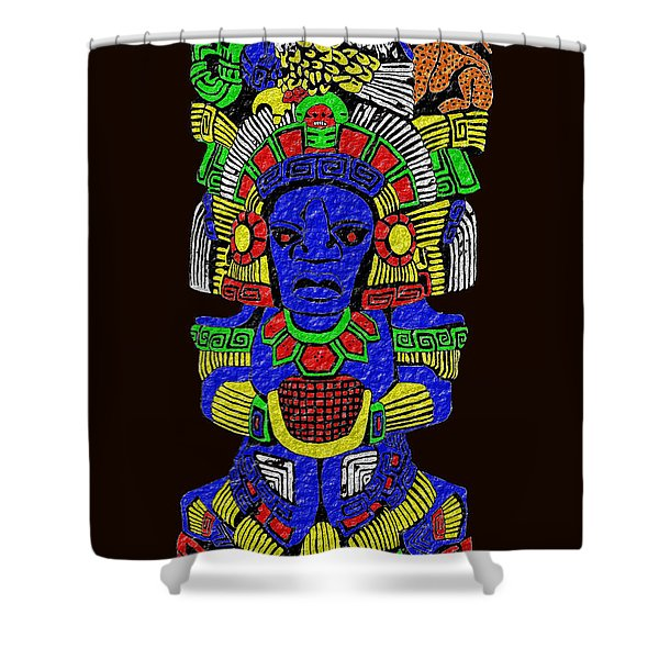 Shaman Shower Curtain