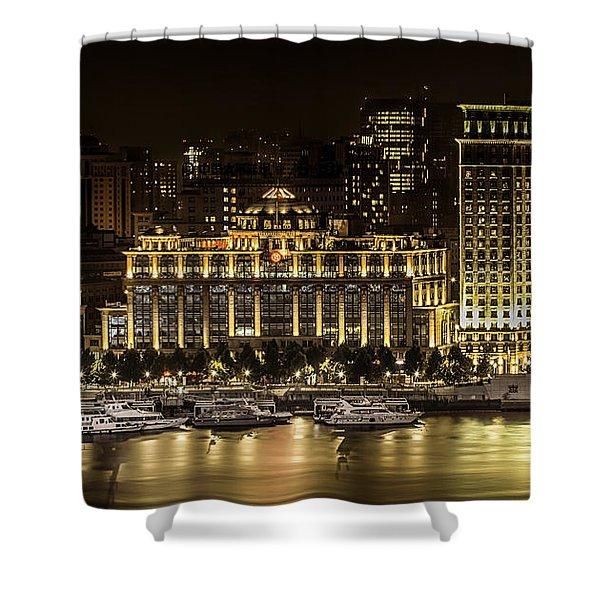 Shanghai Nights Shower Curtain