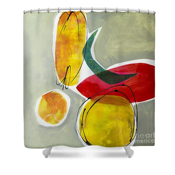Shapes And Color 2 Shower Curtain
