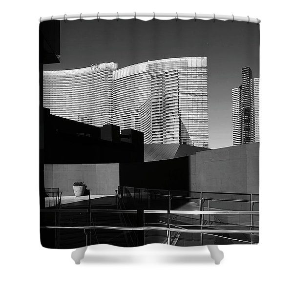 Shapes And Shadows 3720 Shower Curtain
