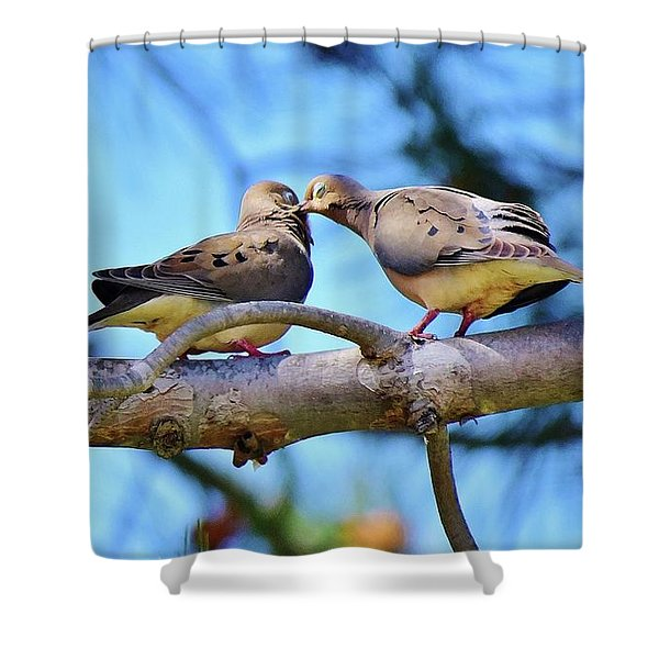 Sharing Is Loving 1 Shower Curtain