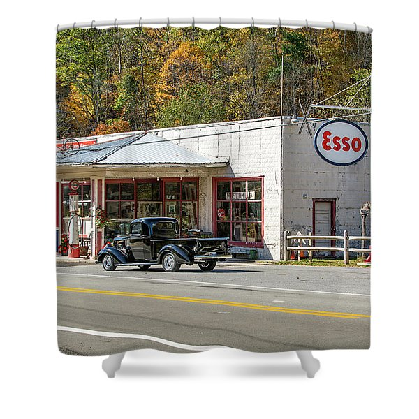 Sharp's Country Store Shower Curtain