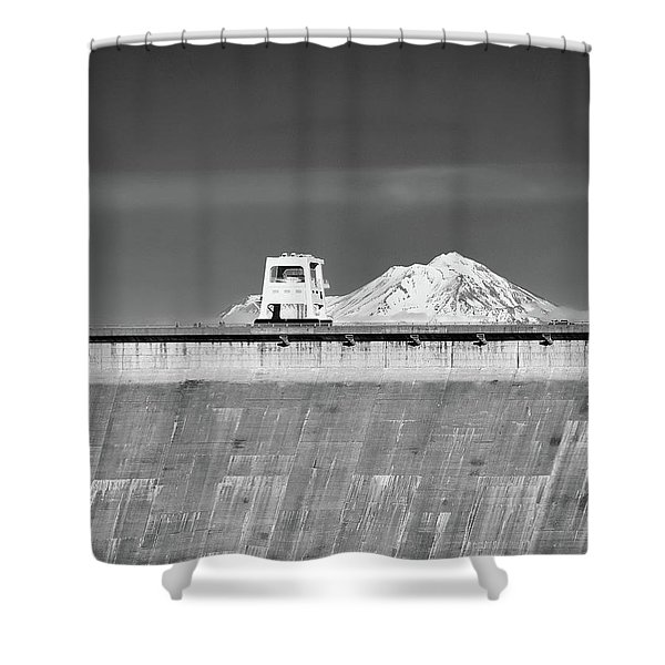 Shasta Dam  Shower Curtain